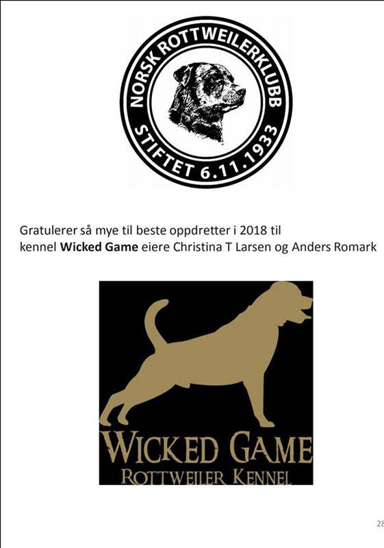Wicked Game Kennel